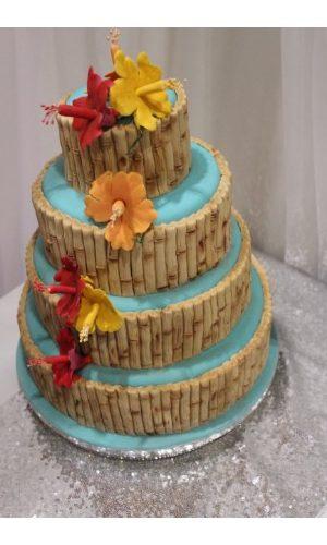 Faraway Wedding Cake
