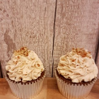 Coffee and Walnut Cupcake